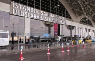 Sabiha Gökçen Havalimanı'ndan uçuşlar geçici...