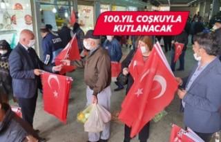 Kemalpaşa'da 100'üncü yıl coşkusu