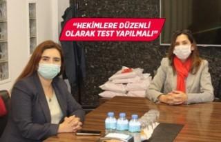 CHP'li Kılıç'tan Sağlık Bakanlığı'na...