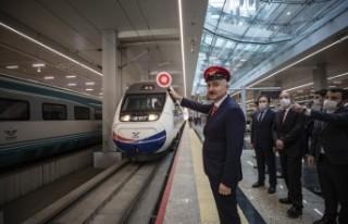Kovid-19 nedeniyle durdurulan tren seferleri yeniden...