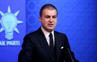 """AK Parti Sözcüsü Çelik'ten """"Barış..."""