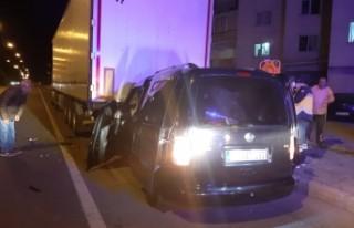 Banaz'da trafik kazası : 5 yaralı