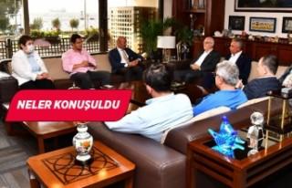CHP'nin Ege İl Başkanları Başkan Soyer'i ziyaret...