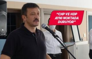 """AK Parti'li Hamza Dağ: """"Memleketin menfaatinin..."""