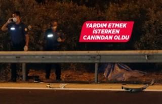 İzmir'de otomobilin çarptığı genç hayatını...