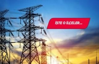 İzmir'in 16 ilçesinde elektrik kesintisi!