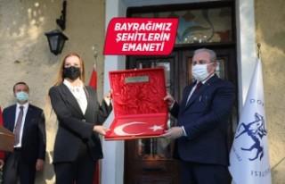 Türkiye'nin ilk bayrak müzesi açıldı