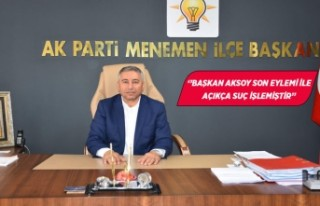 AK Parti Menemen'de, CHP'li Ünal'ın istifası...