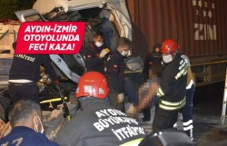 Aydın'da iki tır çarpıştı: 1 ölü