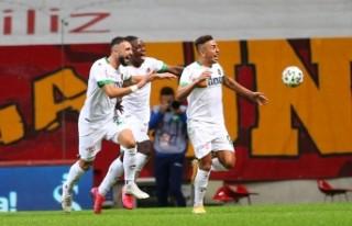 Galatasaray: 1 - Aytemiz Alanyaspor: 2