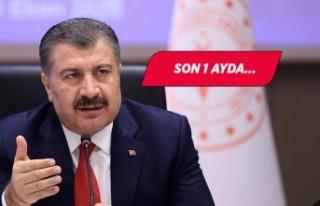 Bakan Koca açıkladı: İzmir'de vaka artışı...