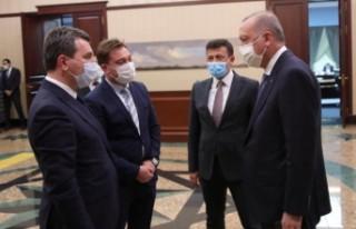 Başkan Koştu Cumhurbaşkanı Erdoğan ile görüştü