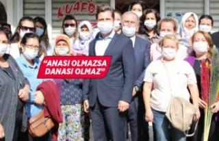 CHP İzmir İl Başkanı Yücel'den kırsalda...