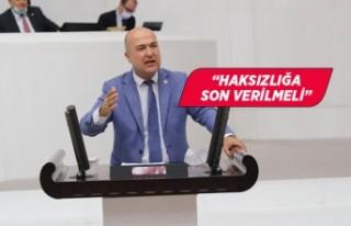 CHP'li Murat Bakan'dan çağrı: Ek ödemeleri...