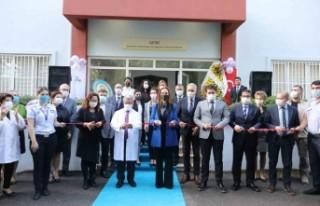 DEÜ Rektörü Hotar GETAT merkezini açtı