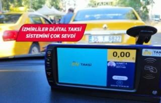 """""""EnTaksi İzmir"""" büyük ilgi görüyor"""