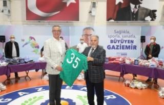 Gaziemir Belediyesi'nden amatör spor kulüplerine...