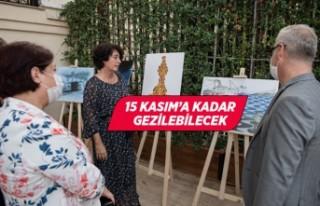"""""""Hey İzmirli"""" karikatür sergisi açıldı"""