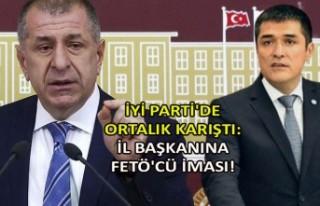İYİ Parti'de ortalık karıştı: İl başkanına...