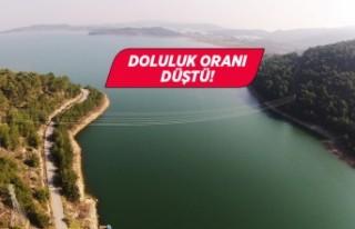 İzmir'in içme suyu barajlarında doluluk oranı...