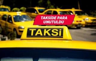 İzmirli taksici aracında unutulan paraları teslim...
