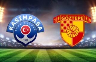 Kasımpaşa Göztepe maçı saat kaçta, hangi kanalda?