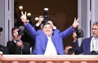 Maradona: 'Peronistim ve daima öyle kalacağım'