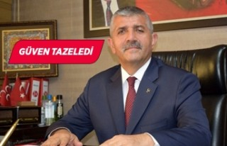 MHP İzmir İl Başkanlığına Veysel Şahin, yeniden...