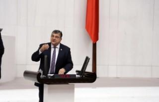 """Milletvekili Sındır, """"tereddüt etmeden Türkiye'yi..."""
