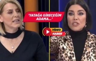Sevda Türküsev ve Deniz Akkaya canlı yayında birbirine...