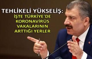 Tehlikeli yükseliş: İşte Türkiye'de koronavirüs...