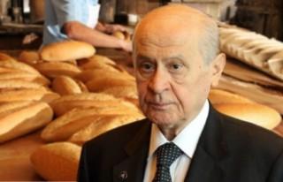 """Tire'de MHP, """"askıda ekmek kampanyası""""..."""