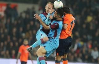 Trabzonspor ile Medipol Başakşehir 25. randevuda