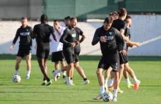 Yukatel Denizlispor, Beşiktaş maçına odaklandı