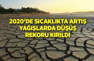 2020'de ekstrem sıcaklıkta artış, yağışlarda...