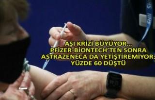 Aşı krizi büyüyor… Yüzde 60 düştü