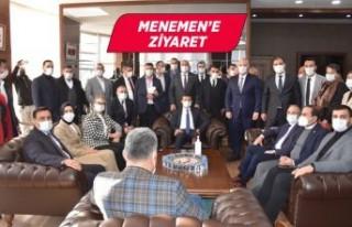 Başkan Vekili Pehlivan AK Parti milletvekillerini...