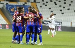 Beşiktaş: 1 - Trabzonspor: 2