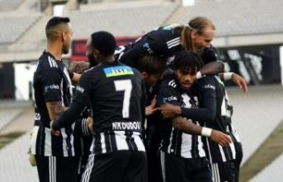 Beşiktaş'ta şampiyonluk alameti