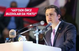 CHP İl Başkanı Yücel'den AK Parti'ye...
