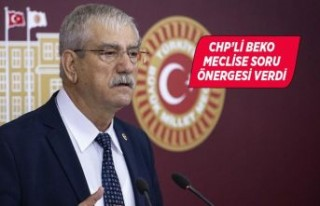 CHP'li Beko engellilerin sorunlarını Meclis'e...