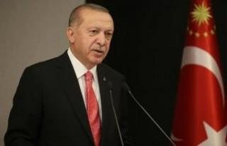 Cumhurbaşkanı Erdoğan, saldırıya uğrayan geminin...