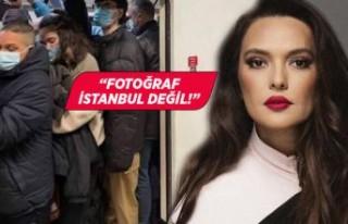 Demet Akalın'ın metro paylaşımına İBB sözcüsünden...