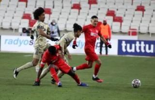 Demir Grup Sivasspor: 1 - Fenerbahçe: 1