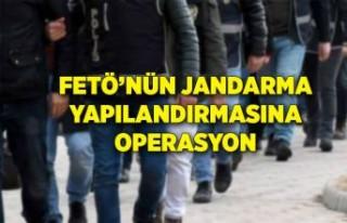 FETÖ'nün Jandarma yapılanmasına operasyon
