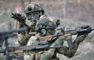 Fırat Kalkanı bölgesinde 7 terörist etkisiz hale...