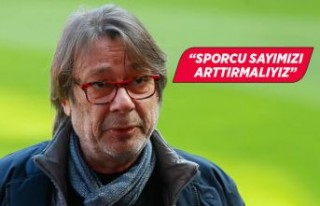 """Göztepe Başkanı Mehmet Sepil: """"Sporcu sayımızı..."""