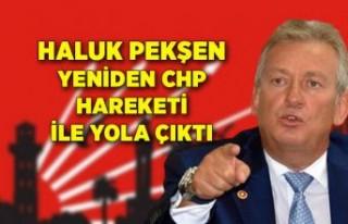 """Haluk Pekşen """"Yeniden CHP Hareketi"""" ile..."""