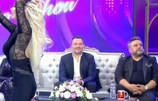 İbo Show'da Bülent Serttaş'ın o hareketi...