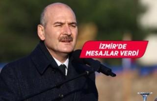 İçişleri Bakanı Süleyman Soylu, İzmir'de